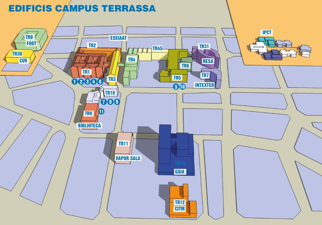 Mapa Campus