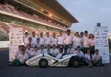 UPCecoRacing de l'ESEIAAT, el millor equip espanyol de la Formula Student
