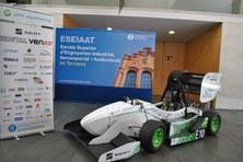 L'equip UPC ecoRacing de l'ESEIAAT presenta l'ecoRX, el primer monoplaça elèctric amb tracció a les quatre rodes de l'Estat