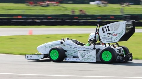 L'equip d'estudiants UPC ecoRacing de l'ESEIAAT triomfa a la Formula Student de Suïssa amb el seu monoplaça elèctric ecoRD