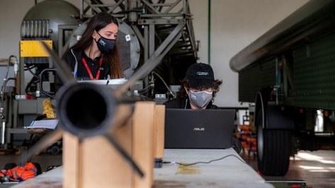 Èxit als últims assajos de llançament del coet Bondar, construït pels estudiants de Cosmic Research, de la UPC-ESEIAAT