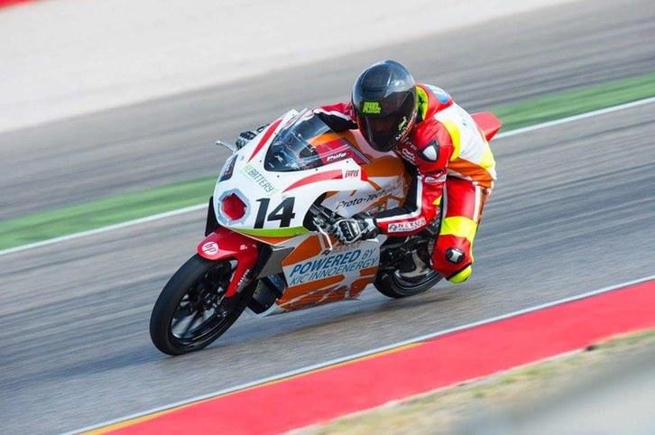 La moto guanyadora