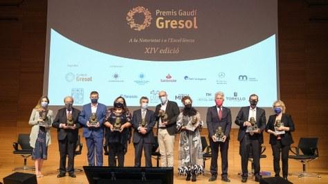 Núria Salán, premi Gaudi Gresol en la categoria de Tecnologia