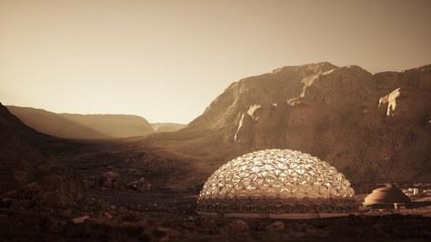 NÜWA, una ciutat sostenible a Mart, d'un milió d'habitants, dissenyada per professors, investigadors i estudiants  de la UPC-ESEIAAT, de l'IEEC, de l'ICUB i de l'ICE-CSIC