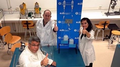 Investigadores de la UPC-ESEIAAT y de la EUIT patentan un innovador sistema de purgación de equipos de sueroterapia que evita la inframedicación intravenosa