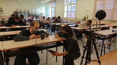 La UPC-ESEIAAT analiza la calidad del aire y el confort térmico en sus aulas en tiempos de pandemia