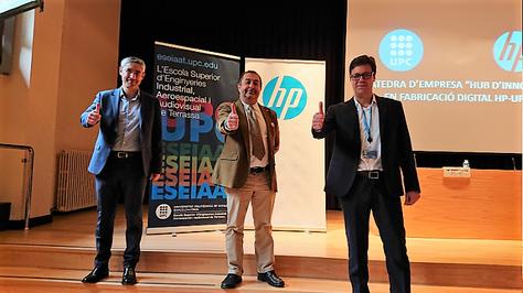 La UPC y HP crean en la ESEIAAT la Cátedra de empresa 'Hub de Innovación en Fabricación Digital HP-UPC'